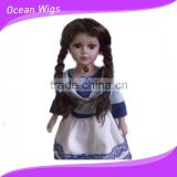 Fashion and beautiful doll wig