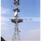 types of long distance triangular Radio communication tower