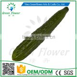 Greenflower 2016 Wholesale artificial PU cucumber China handmaking decoration
