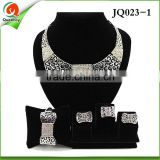 African Gold Jewelry Set Artificial Bridal Jewellery Sets/18k Gold Plated Jewelry