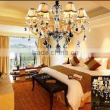 Modern decorative luxury hotel lobby crystal chandlier