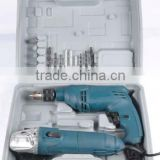 DIY electric drill with angle grinder tools set of power tools