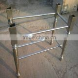 casting iron table leg with polishing process