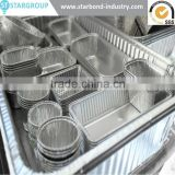 Best Selling pollution free factory stock full sizes Aluminium Material and Food Use Disposable aluminium