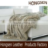 HSTH003 hot sales polar fleece throw blanket