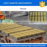 WANTE BRAND QT10-15 pvc pallets for block making machine Bamboo pallets                                                                                                         Supplier's Choice