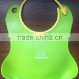 Best selling new baby products Silicone/TPE baby bibs for free samples baby bib manufacturer