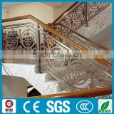 luxurious vill decoration/Carved Perforated/laser cut fencing panels for Stair guardrail /Professional design