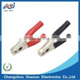 200A car battery charging alligator clip with PVC boot