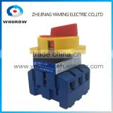 Isolator switch YMD11-100A load break switch universal power cut off switch on-off 100A 3P changeover cam switch sliver contacts