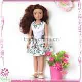 Wholesae fixed eyes baby dolls craft american dolls oem 15 inch vinyl dolls