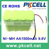 Christmas lights battery 9.6V AA1500mAh NiMH Battery Pack