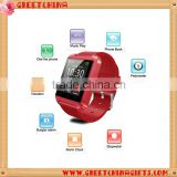 Cheat U8, custom logo promotional smart fitness band, multi-function bluetooth sports smart digital watch