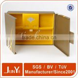 cotton filled custom logo printed jewelry box wholesale                                                                         Quality Choice