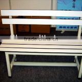 Street sit up hpl outdoor leisure long bench