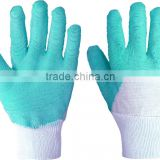 Sales high quality flannel food grade latex gloves