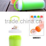 Cheapest Double Wall Matt Finished 400ML Travel Mug bottle logo customized many models sport bottle