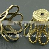 Iron End Cap Beads(E115-AB)