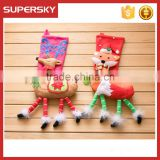 V-281 Extra big christmas gift socks christmas hanging ornaments baby christmas decoration