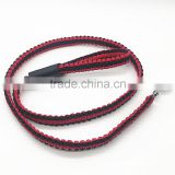 Fashion Wholesale Cobra Weave Paracord Dog Leash with Lobster Buckle / Shackle Paracord Led Dog Collar Pet Collars