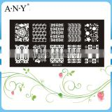 Nail Art Beauty Design Care Stainless Metal DIY Nail Art Stamping Plate                                                                         Quality Choice