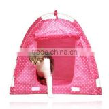 HOT in America Wave point Tent, 3 sizes, Folding portable Pet dot cat tent/bed/beds/house/kennel/cage