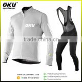 Custom Sublimated long sleeve Cycling Jersey and pants, long sleeve set cycling