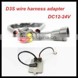 HID Bi Xenon lamp D1S D1R D1C Wire Harness HID Xenon kits Bulbs Replacement Power Cords Cables