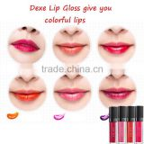Your branding wholeday super waterproof Color Lipsticks DEXE Lip Gloss                                                                         Quality Choice