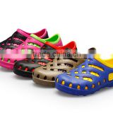 2015 new products colorful eva garden shoes casual eva injection girls clogs