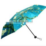 Chinese Landscape Painting Hot Sale Promotion Folding Umbrella