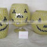 holiday decoration mosaic craft glass vases