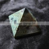 Natural High Quality Nice Malachite Stone Crystal Pyramid For Sale
