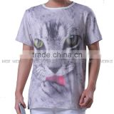 Summer tops tees men/boy t-shirt funny print Tiger 3d t shirt animals fashion short sleeve tshirts teen top fashion t shirt