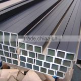 Factory 6000 series customized square pipe railing / ms square pipe weight chart / square pvc pipe