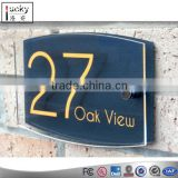 Modern Acrylic House Number Signs,Office Number Signs