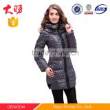Comfortable Winter jacket Woman's Casual Fashion goose/duck down Coats Cotton-padded Clothes