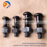 High Strength Bolt Torshear Type Bolt Large Hex Bolt and Flat Washer for Steel Structures