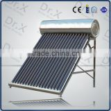 Non-pressure solar water heating system for home ,high quality solar water heaters,CE SRCC approved