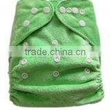 one size PUL reusable minky baby cloth diaper-HAILAN-S08