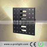 Christmas decorative 7x7 led stage light 49pcs 3W warm white led matrix light wedding light