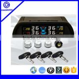 Best seller OE quality easy DIY car radio TPMS TP800(or 801) solar power with external sensor and internal sensor