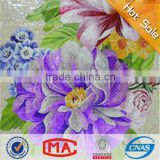 ZTCLJ JY-JH-MG04-A Mosaic Tile Picture Colorful Flowers Handmade Art Wall Murals Glass Mosaic Tile Picture