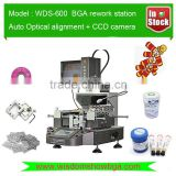 2016 Latest Mobile Phone BGA Rework Station WDS-600 with Optical Alignment and Automatic BGA Remove Mounting Soldering