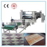Hot-melt glue(PUR) laminating machine/ pvc/ acrylic high gloss film for mdf panel sticking machine