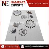Newly Designed Floral Pattern Hand Tufted Wall to Wall Carpets and Rugs