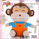 2016 Hot selling Favorite Cute Cheap Kid toys and Promotional giftsholesale Plush stuffed toy Monkey