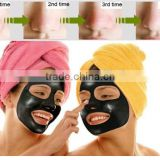 2015 highly effective person skin care Peeling off Black Head Cleaning Nose Mask Black Mask black mud facial mask