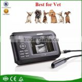 2016 New general medical hospital clinic handheld portable laptop vet ultrasound-V8