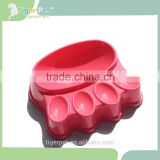 China wholesale plastic quality hot sale factory customed dog bowl rubber ring